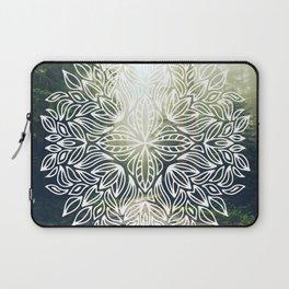 Mandala Forest Fog Road Laptop Sleeve
