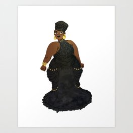 Dress #2 Art Print