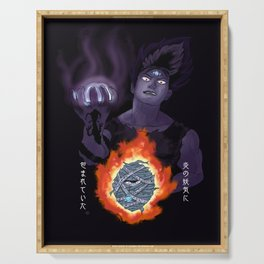 Hiei, The Cursed Child Serving Tray