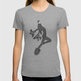 Quail Woman by CREYES of ArtFx Old Town Yucca Valley T-shirt