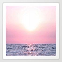 Calming Sea view Art Print