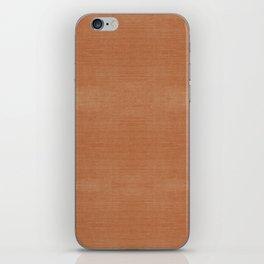 COPPER DENIM . SOLID iPhone Skin