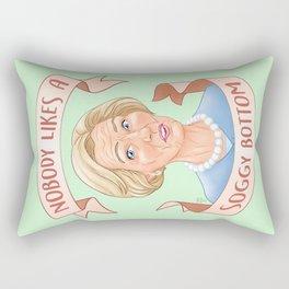 Nobody Likes a Soggy Bottom Rectangular Pillow