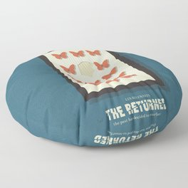 The Returned, french tv series, minimalist, alternative poster, Canal+ Floor Pillow