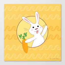 Carrot Time! Canvas Print