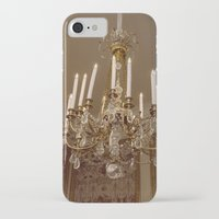 chandelier iPhone & iPod Cases featuring Chandelier by Pati Designs
