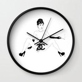 Designer Pu$$y Wall Clock