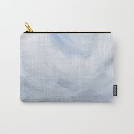 Unclear - Moody Gray Ocean Seascape Carry-All Pouch