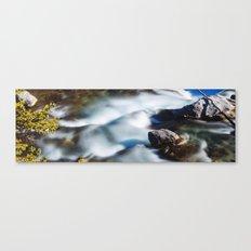 Beautiful Waterfall in Canada Canvas Print