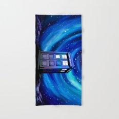 Tardis Vortex Starry Night Hand & Bath Towel