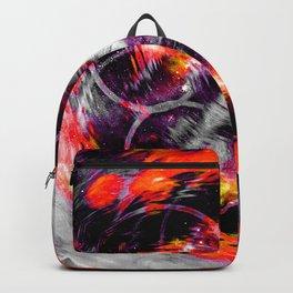 Orange Aura Backpack