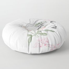 Botanical #1 Floor Pillow