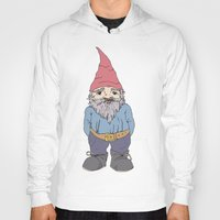 gnome Hoodies featuring Gnome Sayin?  by Aubree Eisenwinter