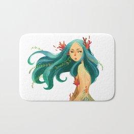 Ocean girl #1 Bath Mat