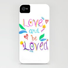 Love and be Loved Slim Case iPhone (4, 4s)