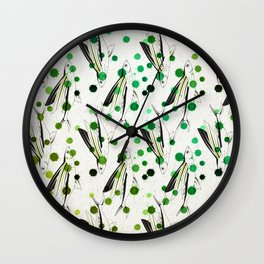 Lucky fish 1/3 Wall Clock