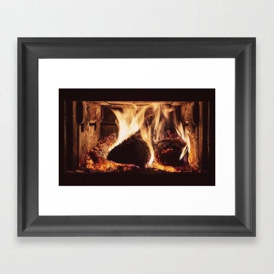 Heat Coma Framed Art Print