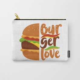 BURGER LOVE Carry-All Pouch