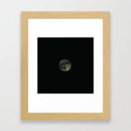 Moon5 Framed Art Print
