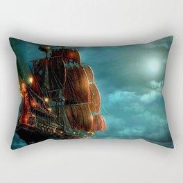 Pirates on sea Rectangular Pillow