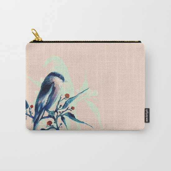 Hashtag Blue Bird Carry-All Pouch