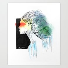 Mother of the Earth Art Print