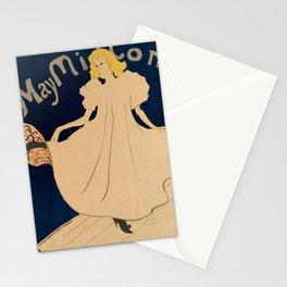 retro may milton. 1895  Stationery Cards