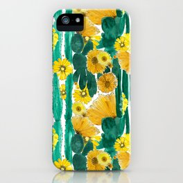 Marcia (Flowering Cactus) iPhone Case