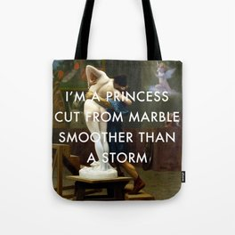 Pygmalion Cut From Marble Tote Bag