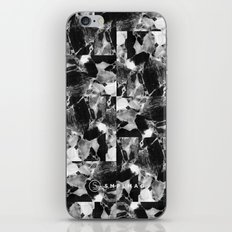 smplmag marble pattern iPhone & iPod Skin