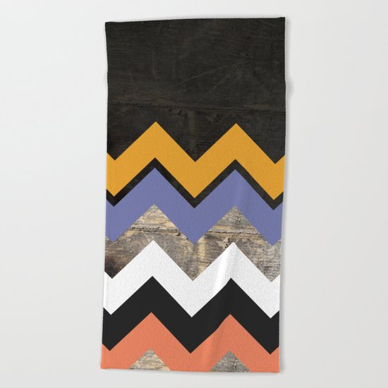 WoodPath Beach Towel