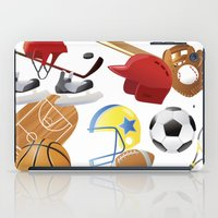 sports iPad Cases featuring sports! by Dues Creatius