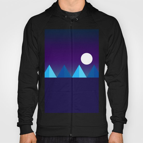 Pyramids in Moonlight Hoody