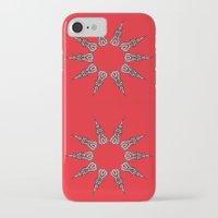 chakra iPhone & iPod Cases featuring Chakra by RaJess