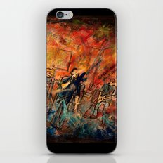 obscured by silence iPhone & iPod Skin