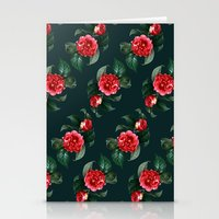 floral pattern Stationery Cards featuring Floral Pattern by Heart of Hearts Designs