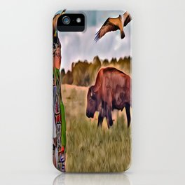 Native Lands iPhone Case