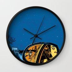 Night Drive Wall Clock