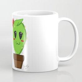 Unfortunate relationship: cute cactus and balloon symbol black Coffee Mug