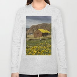 Wood House Long Sleeve T-shirt