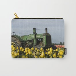 Working the Flower Fields Carry-All Pouch