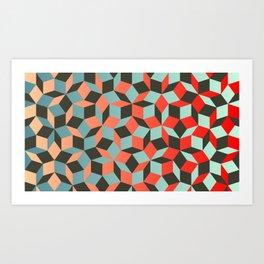 Penrose tiling I Kunstdrucke