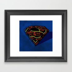 The Greatest of them All Framed Art Print