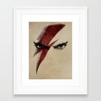 heroes Framed Art Prints featuring Heroes by Badaro