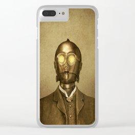 Baron Von Three PO Clear iPhone Case