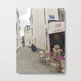 Cafe Le Ceni's Metal Print