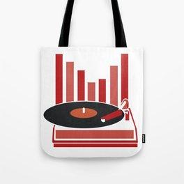 Love Vinyl Tote Bag