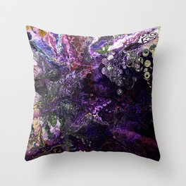 Decomposing Dreams Throw Pillow