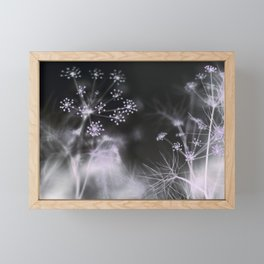 Silent Fireworks Framed Mini Art Print