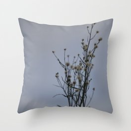 Autumn-Dandelion Throw Pillow